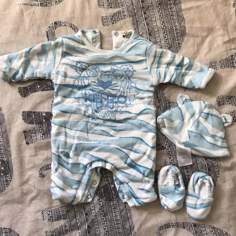 Kenzo baby grow set