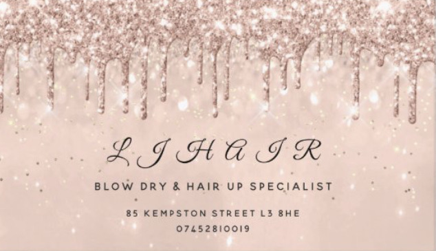 Liverpool based hairdresser