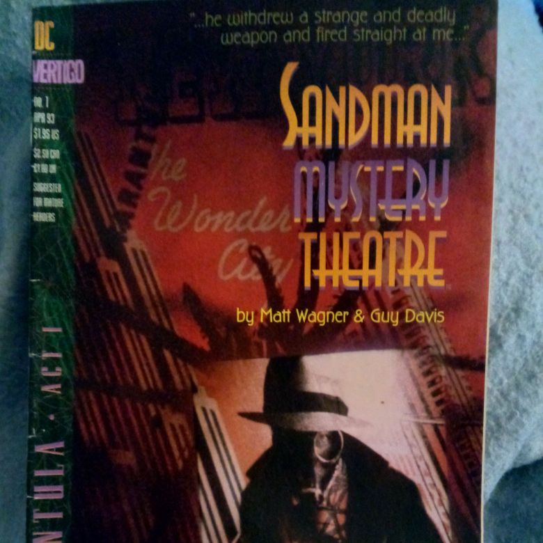 Sandman Mystery Theatre #1