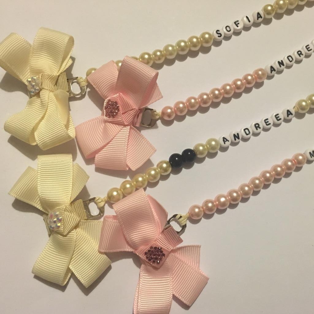 Little bow dummy chains