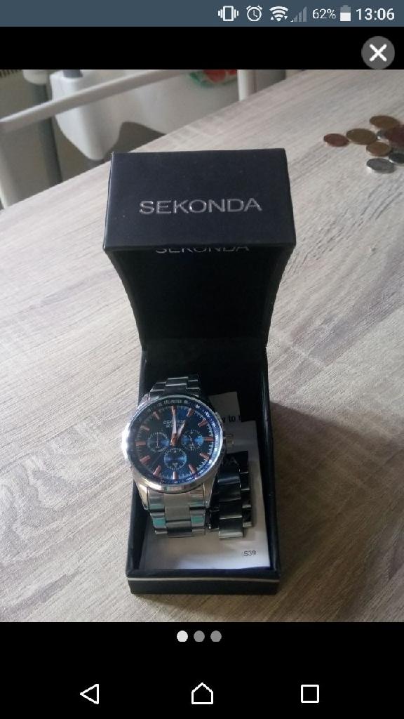 Sekonda 50metres watch
