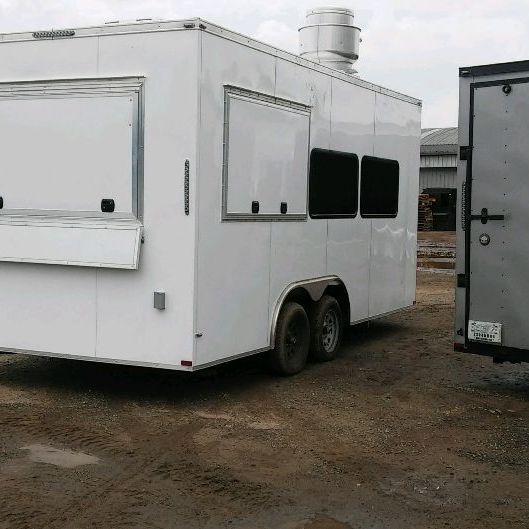 8.5X20 Fully Loaded Concession Trailers. Financing Available.