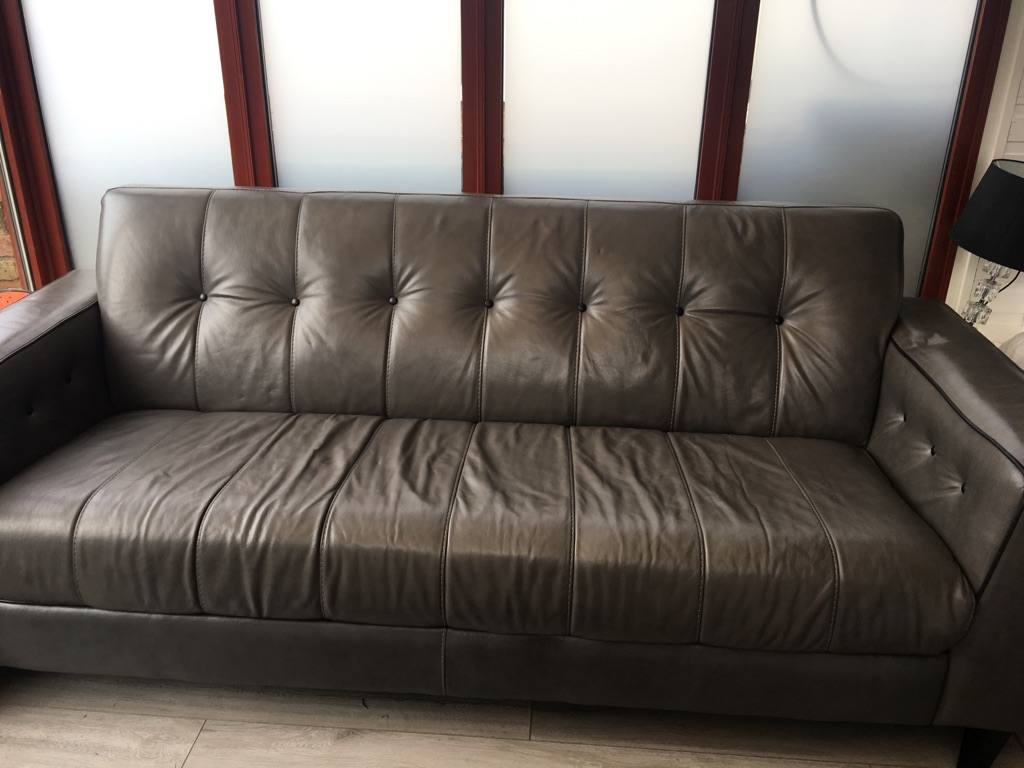 Gray 3 piece suite