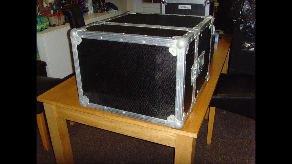 Custom Built Flight Case For Cd Mixer Amp