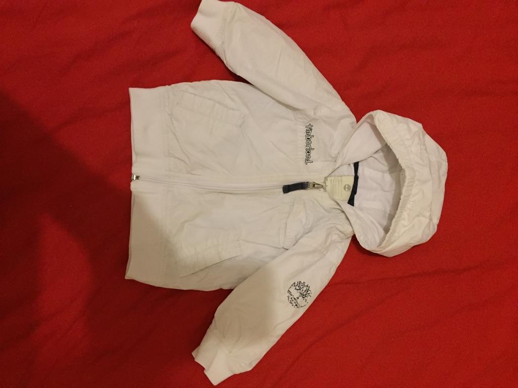 Timberland lightweight jacket age 12m
