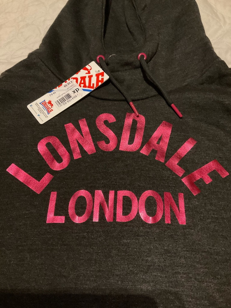 Women's NWT Lonsdale hoodie size 14