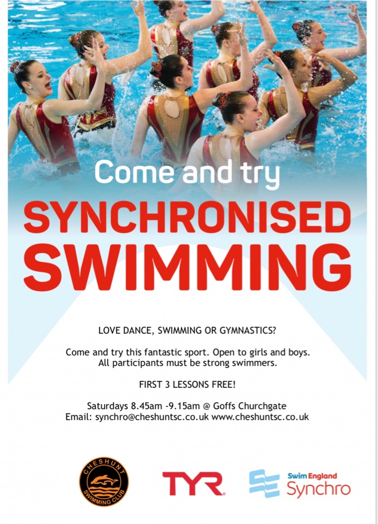 Beginner Synchronised Swimming Lessons FREE