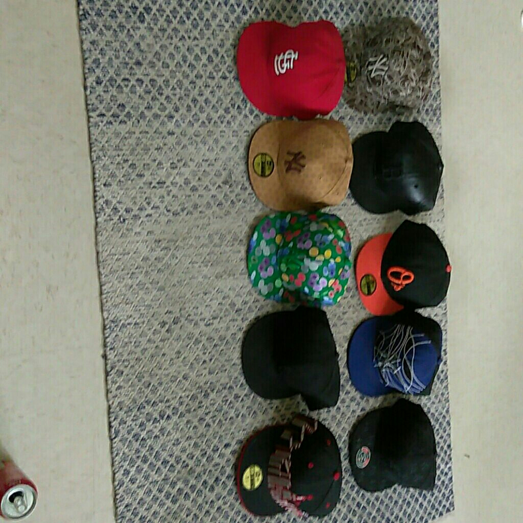 Baseball team fitted hat bundle size 7 1/2