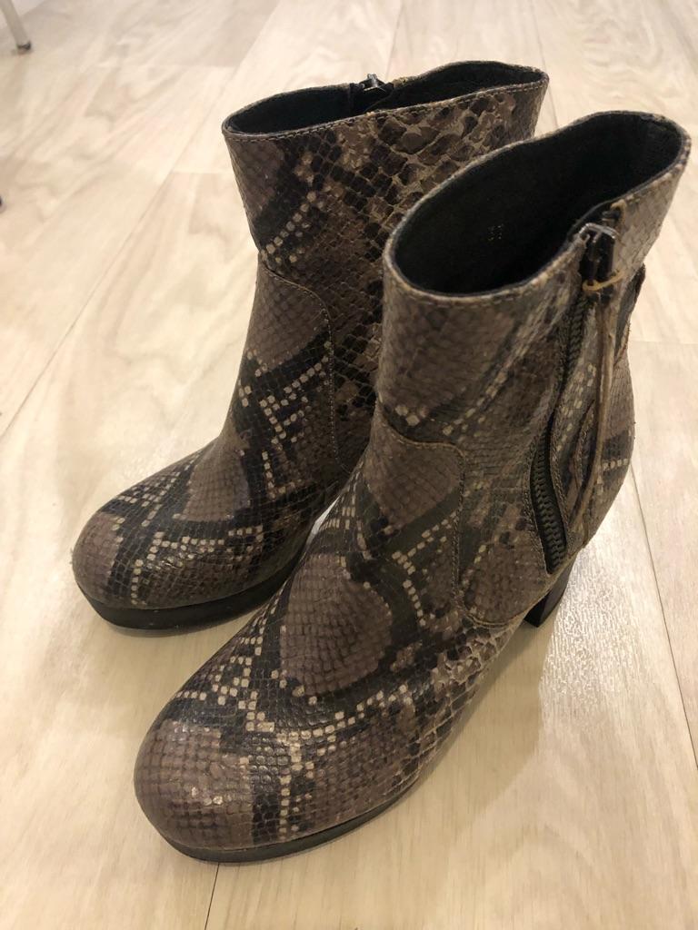 Kurt Geiger London python boots
