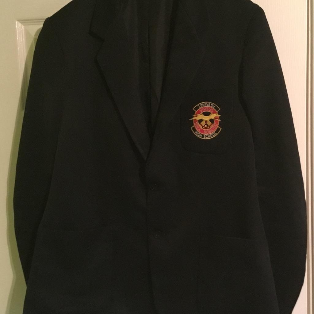 Limavady high school blazer - boys- size 18
