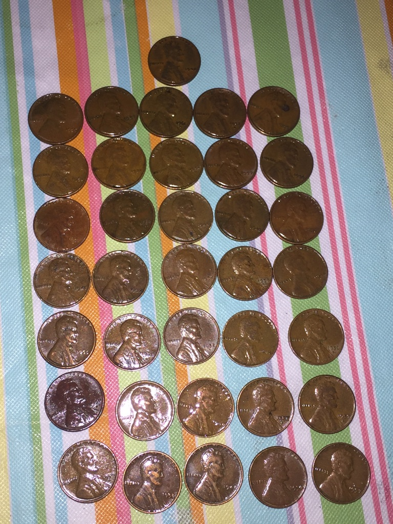 Rare Wheat pennies