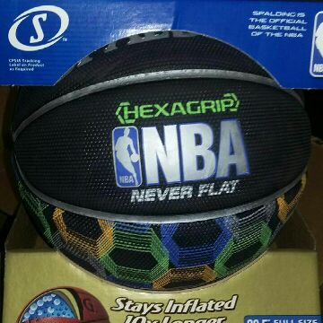 Basketball HEXAGRIP NBA never flat