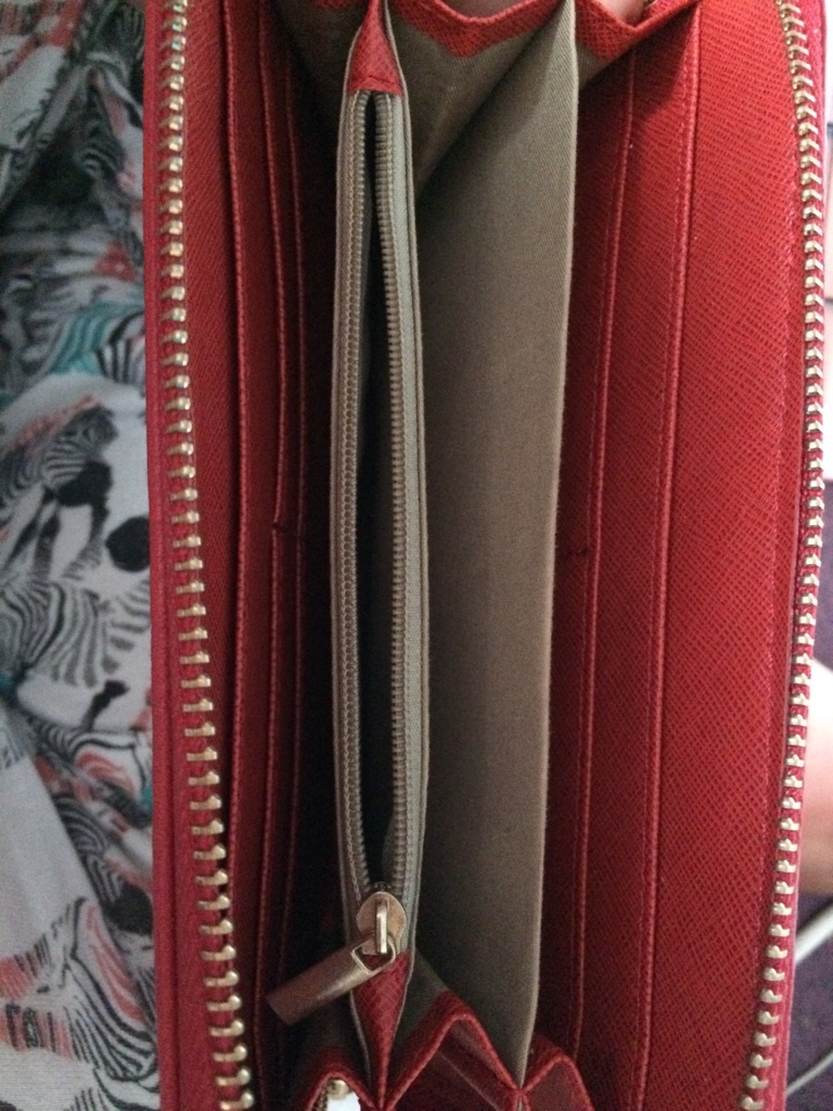 Mulberry women's leather purse