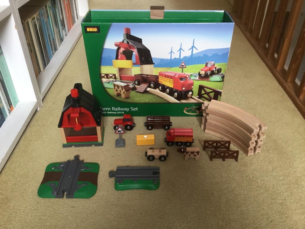 Brio Farm Railway Set (33719)