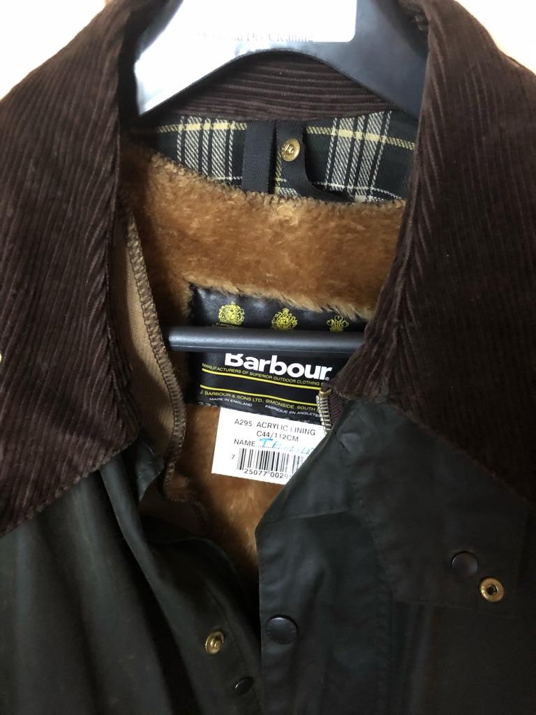 Barbour was men's jacket ex large