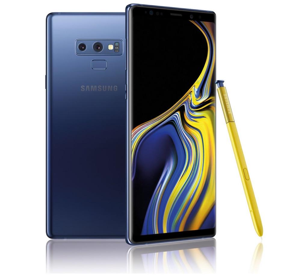 Samsung Galaxy Note 9 - Ocean Blue 128GB