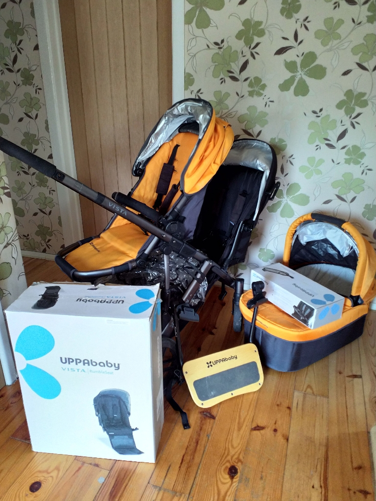 Uppababy Vista double Great Condition lots of accessories