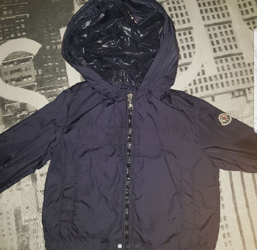 Boys Genuine Moncler Windbreaker Jacket Age 4