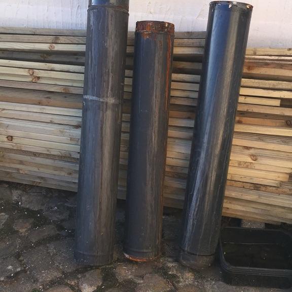 Stove flue pipes