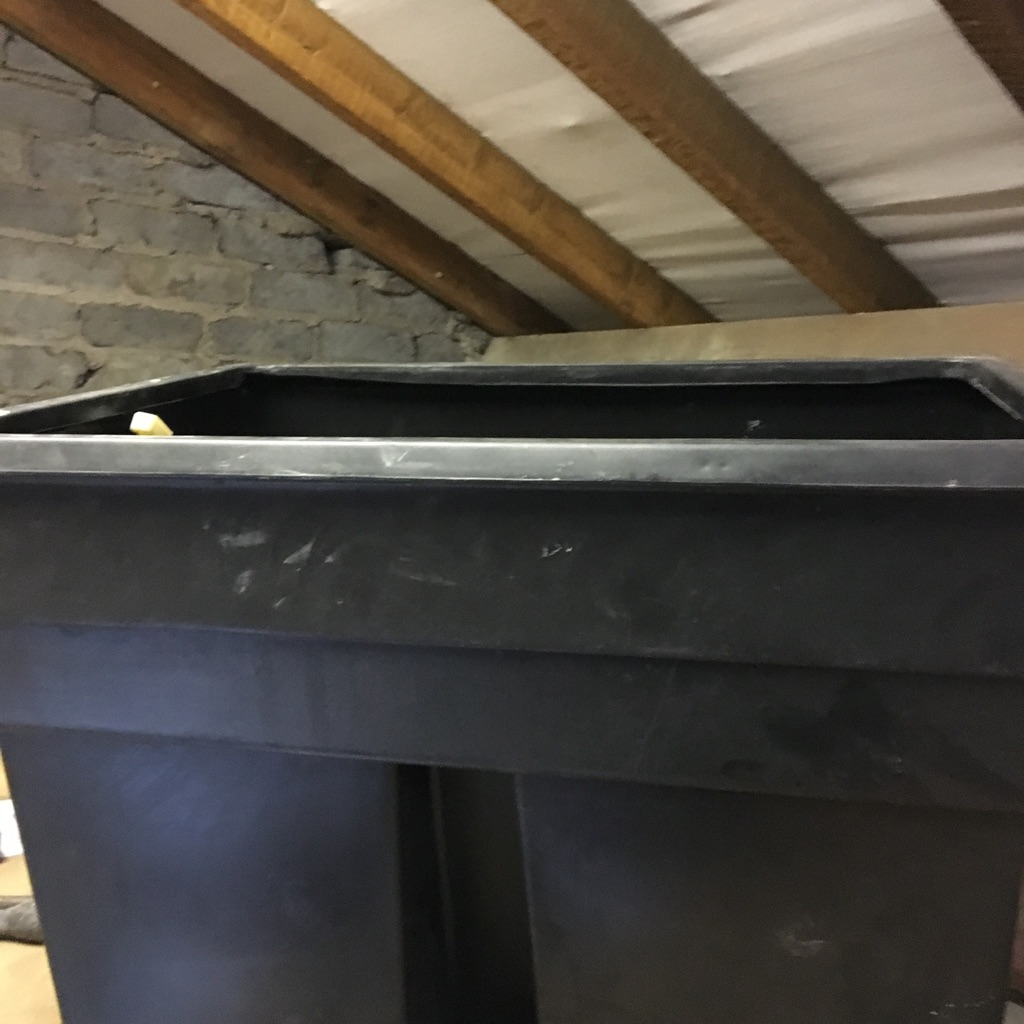 Cold water tank for loft