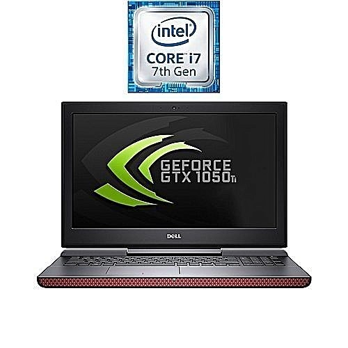 Dell Inspiron 7567 Gaming Laptop (i7, 16GB RAM, 1TB HDD, 100GB SSD, GTX 1050ti 4GB)