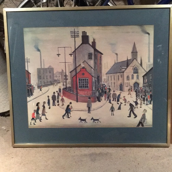 Lowry framed print