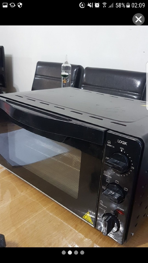 Mini oven with grill