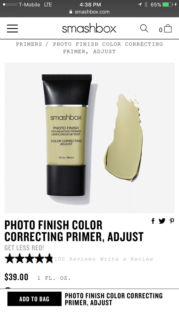 Smashbox Primer full size