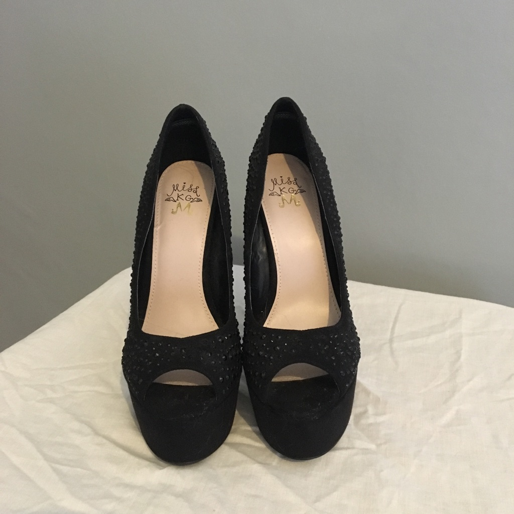Black Kurt Geiger Court Shoes - Size 6