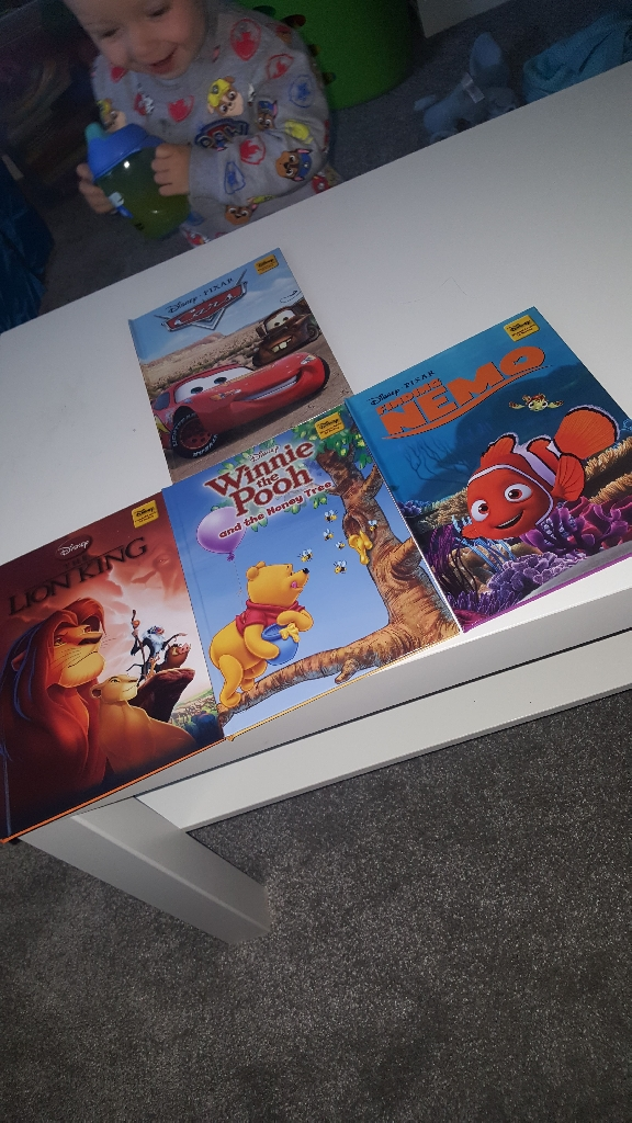 Collection of Disney hard back books