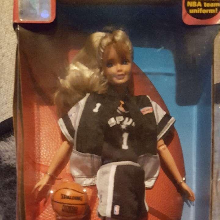 NBA Barbie San Antonio Spurs