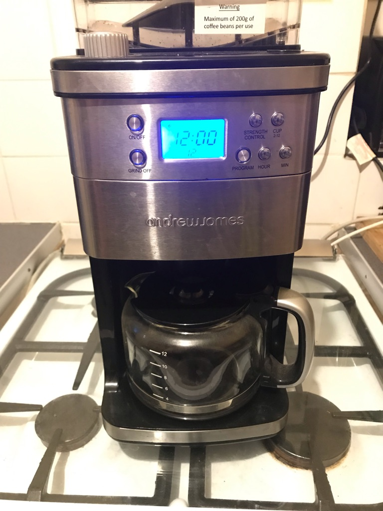 Andrew James Coffee Machine And Grinder