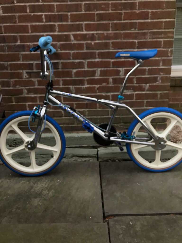 DYNO Zone [ICE BLUE] 80's FREESTYLE BMX BIKE