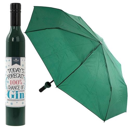 Gin bottle umbrella