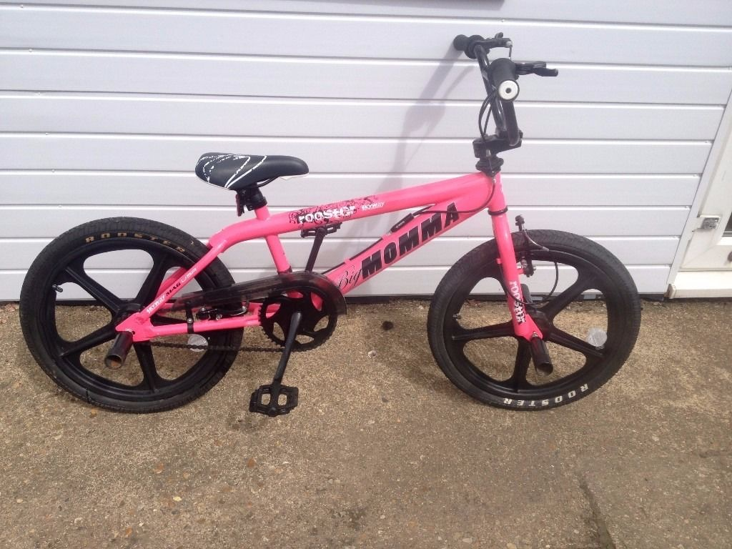 "Pink BMX Girls ""Big Momma"" Bike"