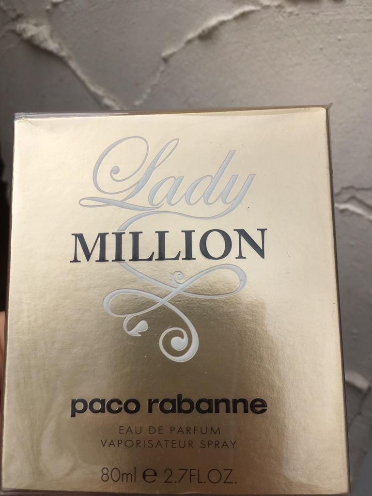 Eau de parfum Lady Million, Paco Rabanne, 80ml.