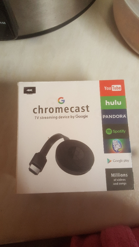 Chromecast tv streaming device by Google brand new in box