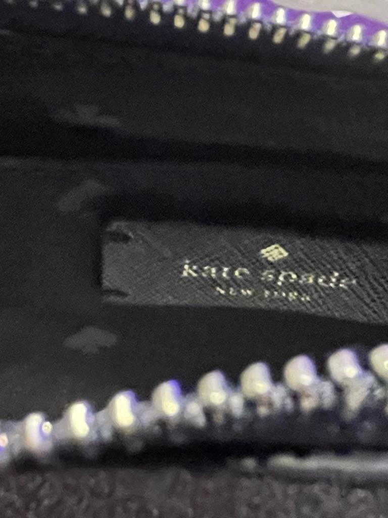 Kate Spade Navy Lola Glitter Crossbody