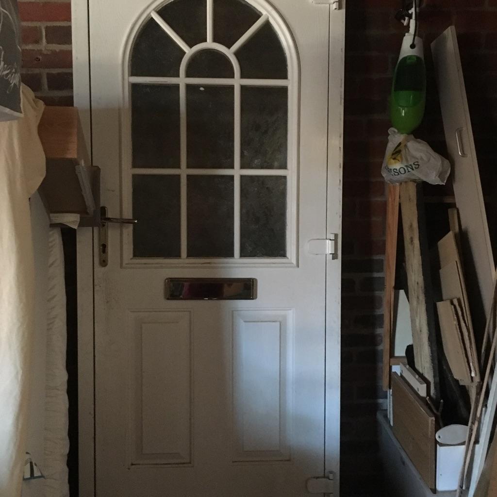 Double glazed UPVC front door