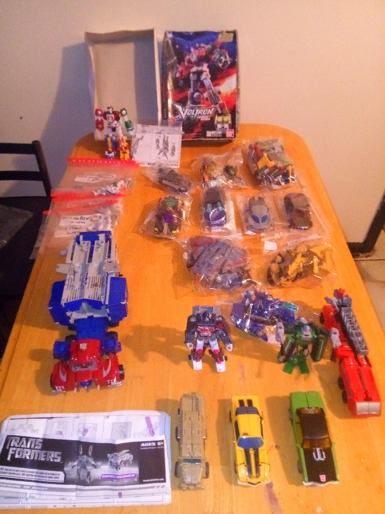 Transformers collection vintage