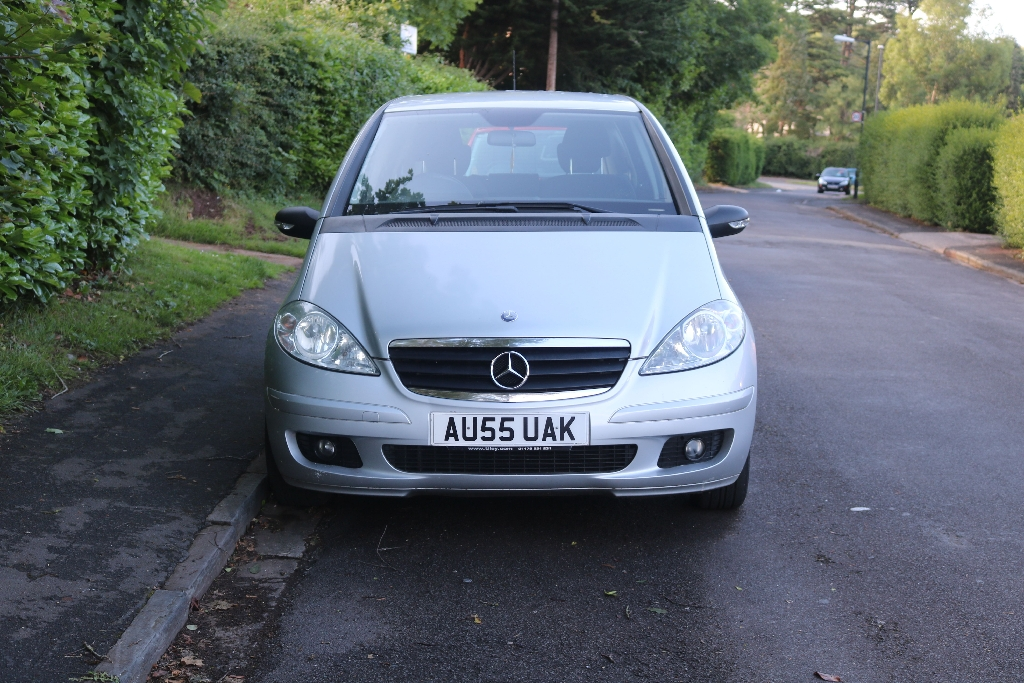 Mercedes A150 silver