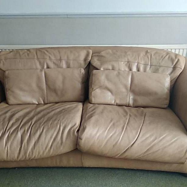 Incanto Italian 3 Seater Leather Sofa