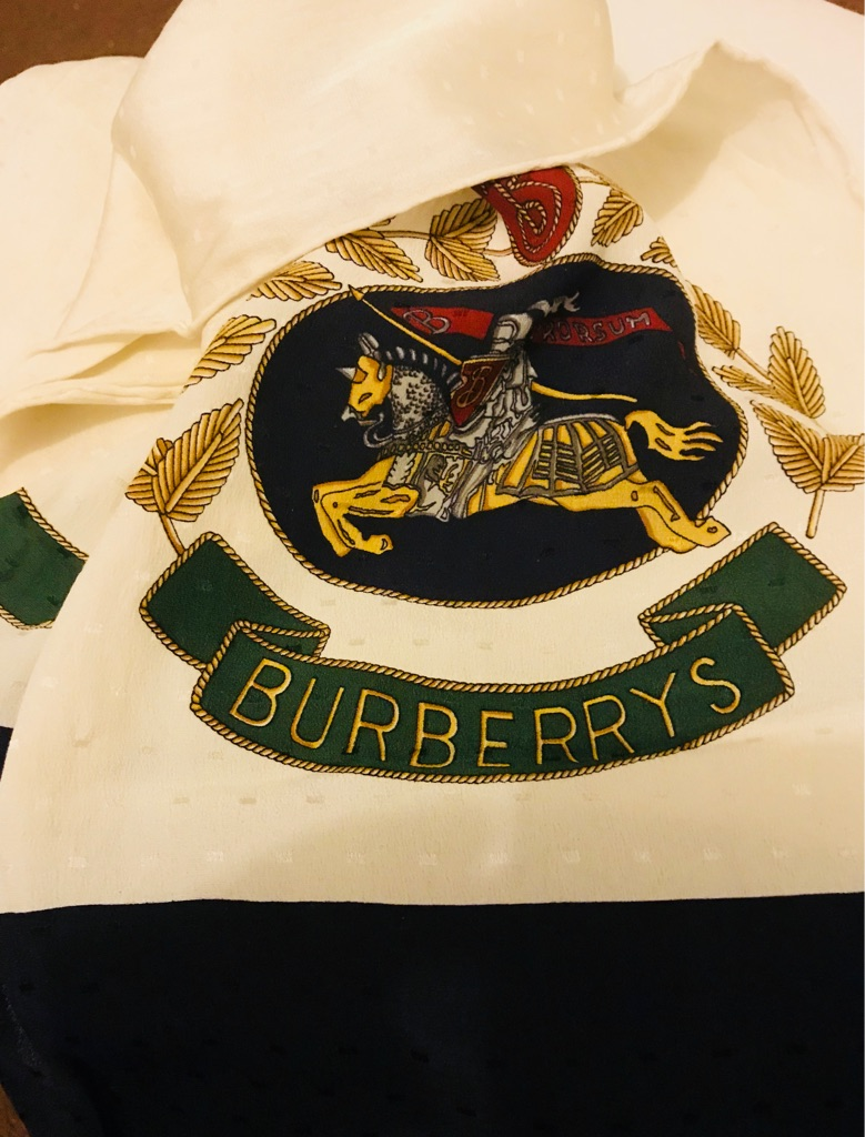 BURBERRY'S PURE SILK SCARF