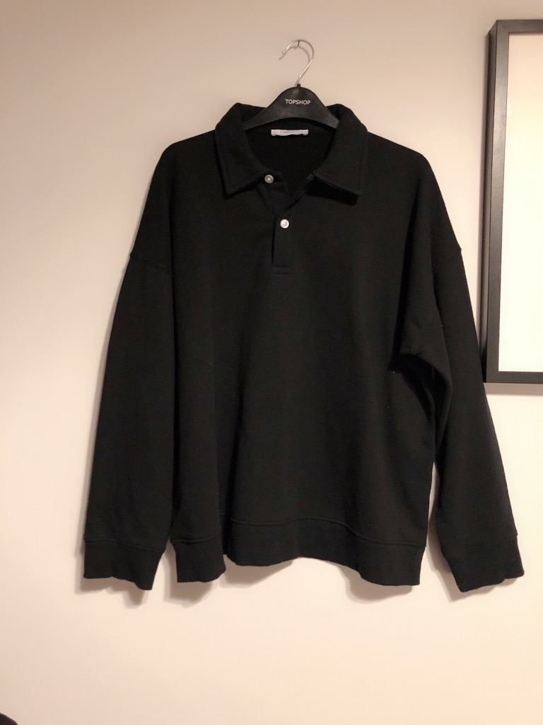 Zara black sweater shirt woman size M