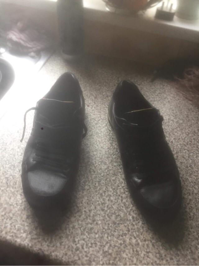 Fendi shoes arthentic vintage collectible leather