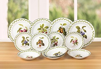 12 Piece China Dinner Service Brand New In Box.