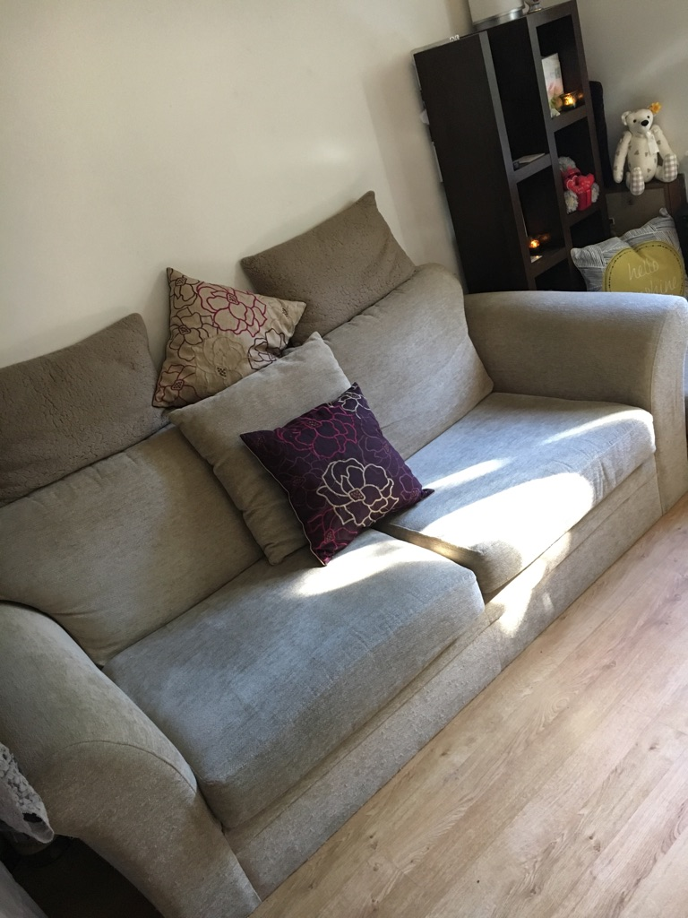 NEXT 3-4 Seater Fabric Sofa