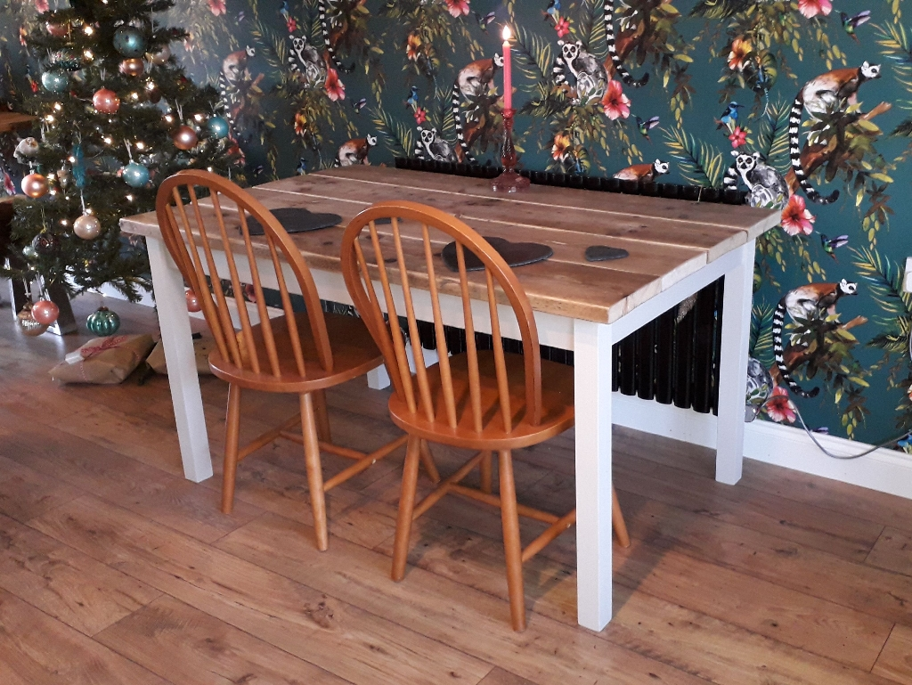 Gorgeous Handmade Reclaimed Wooden Dining Table