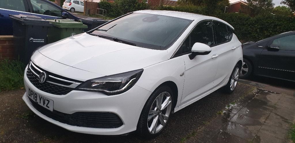 2018 Vauxhall astra