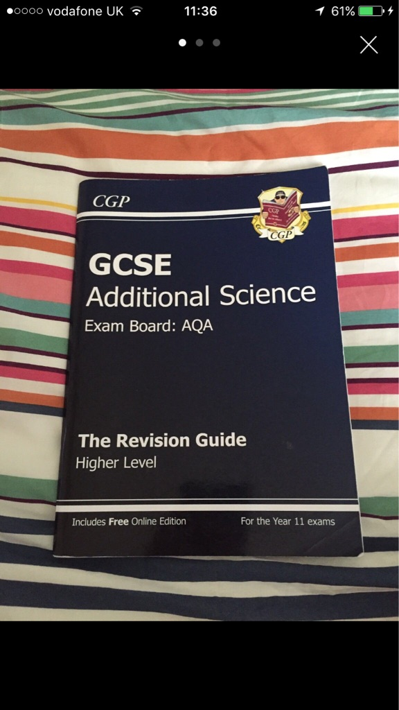 GCSE Additional revision guide